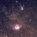 M8 (NGC 6523) - 09/07/2010