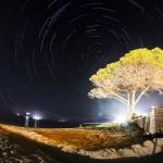Rotazione celeste da Alghero (SS) - 06/06/2013