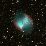 Nebulosa planetaria nella costellazione della Volpetta