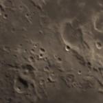 crateri Isidoro, Capella e Gutenberg - 21/04/2018