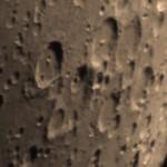 crateri Hommel, Pitiscus e Vlacq - 21/04/2018